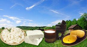 Predaj Slovenských špecialít priamo od výrobcu - Žinčica, ovčí syr, bryndza, oštiepky